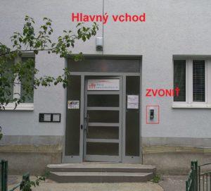 oznacenie vchodu